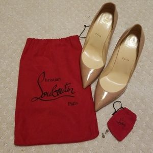Authentic Christian Louboutin Pigalle Follies 42
